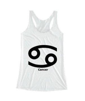 Cancer Symbol, Women's Tank Top