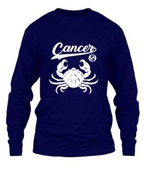 Cancer Tshirt, Men's Long Sleeves T-shirt