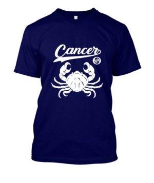 Cancer Tshirt, Men's Round T-shirt