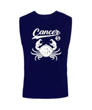 Cancer Tshirt, Men's Sleeveless T-shirt
