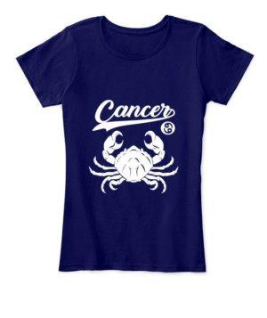 Cancer Tshirt, Women's Round Neck T-shirt