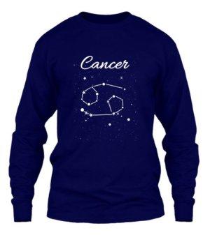 Constellation-Cancer Tshirt, Men's Long Sleeves T-shirt