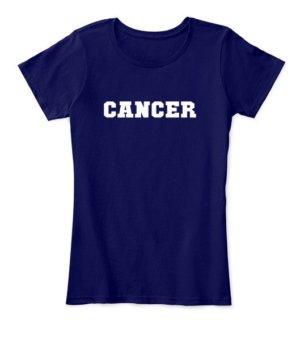 Cancer, Women's Round Neck T-shirt