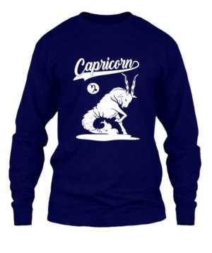 Capricorn Tshirt, Men's Long Sleeves T-shirt