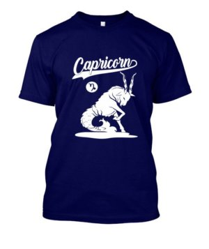 Capricorn Tshirt, Men's Round T-shirt