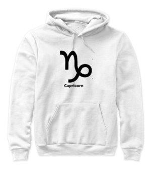 Capricorn Symbol, Women's Hoodies