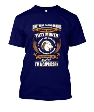 Im an Capricorn, Men's Round T-shirt
