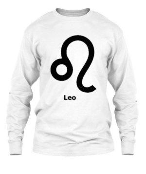 Leo Symbol, Men's Long Sleeves T-shirt