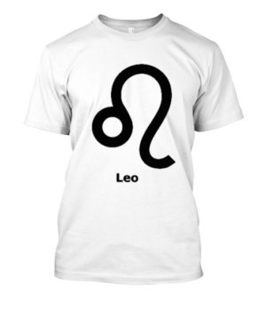 Leo Symbol, Men's Round T-shirt