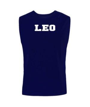 Leo, Men's Sleeveless T-shirt