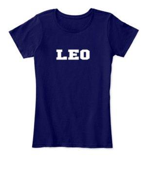 Leo, Women's Round Neck T-shirt