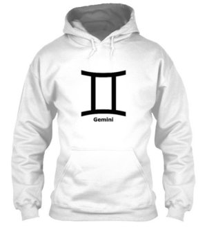 Gemini Symbol, Men's Hoodies