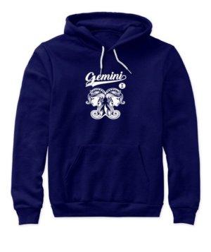Gemini Tshirt, Women's Hoodies