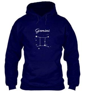 Constellation-Gemini Tshirt, Men's Hoodies