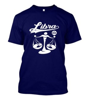 Libra Tshirt, Men's Round T-shirt