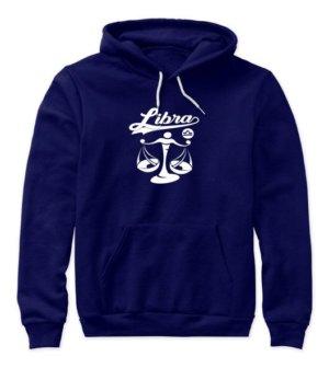 Libra Tshirt, Women's Hoodies