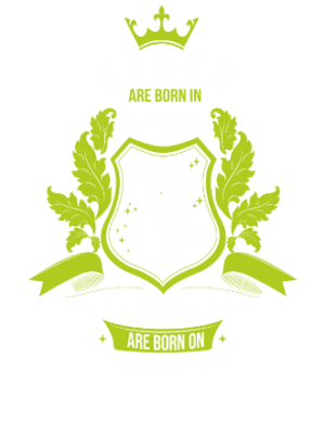 Kings are born on April 1-30