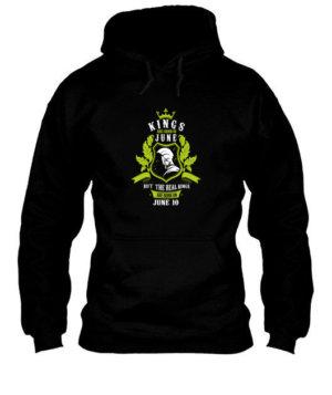 Buy Kings are born on June 1-30, Men's Hoodies