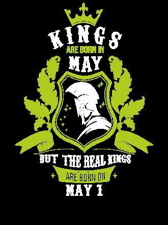 Buy Kings are born on May 1-31, Men's Hoodies