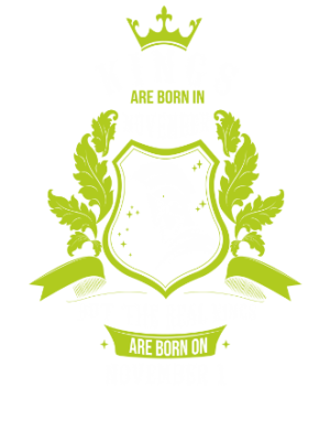 Buy Kings are born on November 1-30 , Men's Round T-shirt