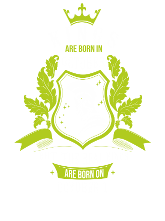 Buy Kings are born on October 1-31 , Men's Long Sleeves T-shirt