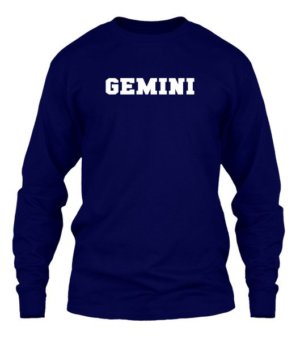 Gemini, Men's Long Sleeves T-shirt
