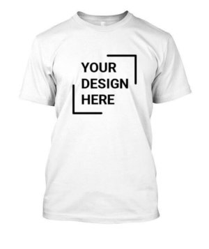 Customized Men's Round Neck T-shirt