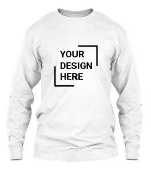 Customized Men's Long Sleeve T-shirt