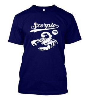 Scorpio Tshirt, Men's Round T-shirt