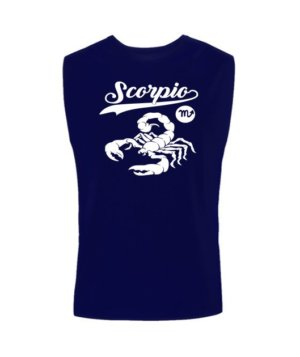 Scorpio Tshirt, Men's Sleeveless T-shirt