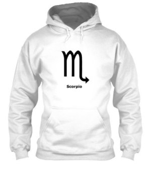 Scorpio Symbol, Men's Hoodies