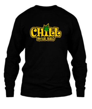 Chill Mar Bro, Men's Long Sleeves T-shirt