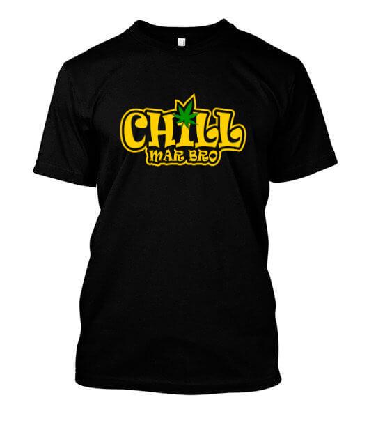 Chill Mar Bro, Men's Round T-shirt