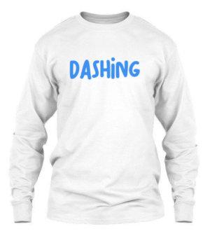 Dashing, Men's Long Sleeves T-shirt