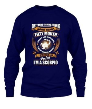 Im an Scorpio, Men's Long Sleeves T-shirt