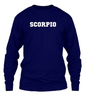 Scorpio, Men's Long Sleeves T-shirt