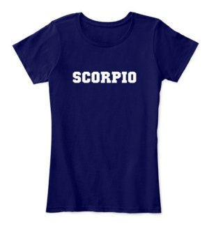 Scorpio, Women's Round Neck T-shirt