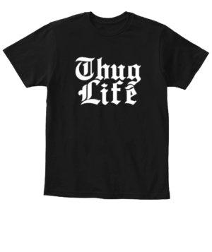 Thug Life, Kid's Unisex Round Neck T-shirt