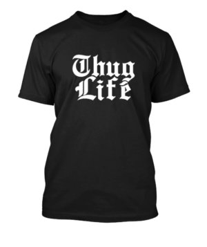 Thug Life, Men's Round T-shirt