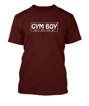 GYM BOY, Men's Round T-shirt
