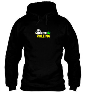 Keep Rolling, Men's Hoodies
