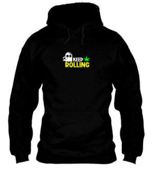 Keep Rolling, Men's Hoodies