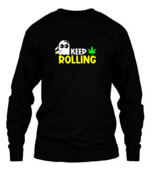 Keep Rolling, Men's Long Sleeves T-shirt