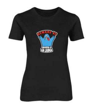 BEWARE OF SHARMA JI KA LADKA, Women's Round Neck T-shirt