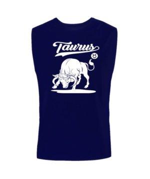 Taurus Tshirt, Men's Sleeveless T-shirt