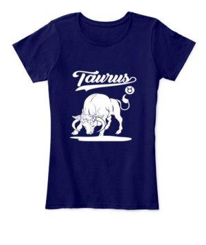 Taurus Tshirt, Women's Round Neck T-shirt