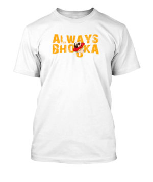 Always Bhooka, Men's Round T-shirt