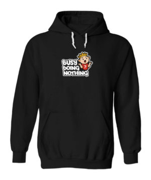 Busy Doing Nothing, Men's Hoodies