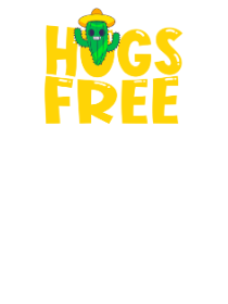 Hugs Free, Kid's Unisex Round Neck T-shirt
