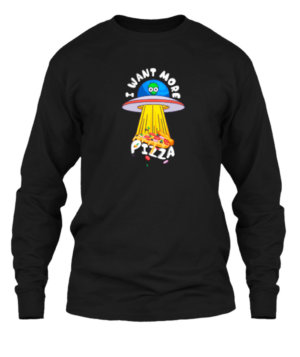 I want more Pizza, Men's Long Sleeves T-shirt